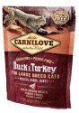 Carnilove Cat Duck & Turkey for Large Breed - kaczka i indyk 400g
