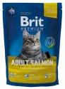 Brit Premium Cat New Adult Salmon 800g