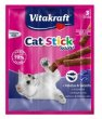 Vitakraft Cat Stick Mini Dorsz i Czarniak 18g [2424003]