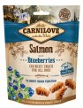 Carnilove Dog Snack Fresh Crunchy Salmon+Blueberries 200g