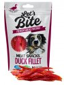 Let's Bite Meat Snacks Duck Fillet 80g