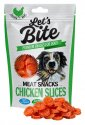 Let's Bite Meat Snacks Chicken Slices 80g